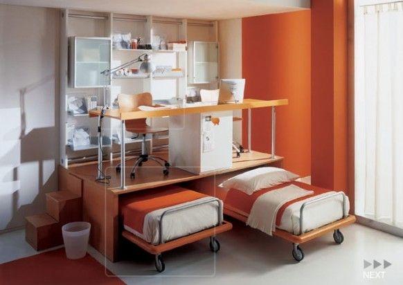 Дизайн интерьера. Комната для девочки-подростка (40) (582x412, 105Kb)