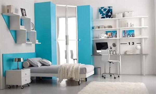 Дизайн интерьера. Комната для девочки-подростка (44) (600x365, 89Kb)