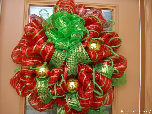Рождественский венок своими руками (2) (620x465, 243Kb)