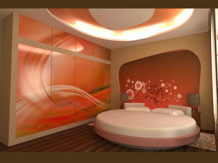 красивый дизайн спальни (700x524, 367Kb)
