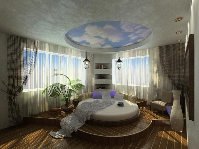 красивый дизайн спальни 3 (700x525, 382Kb)