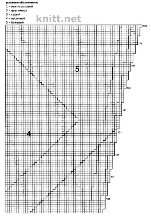 azhurnyj-pulover-zelenogo-cveta-spicami-shema (488x700, 203Kb)