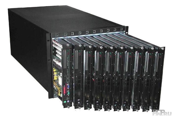 Серверы Hewlett-Packard