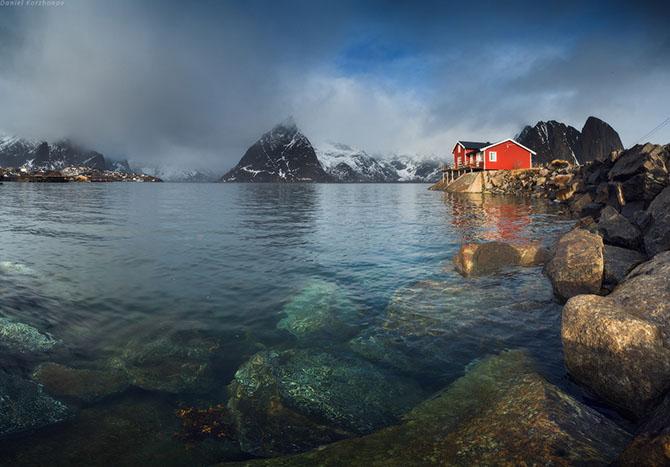 Лофотенские острова норвегия (670x467, 218Kb)