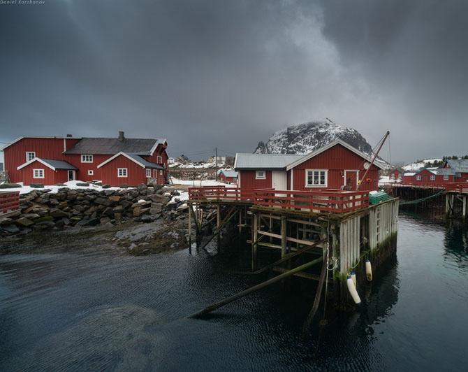 Лофотенские острова норвегия 2 (670x532, 212Kb)