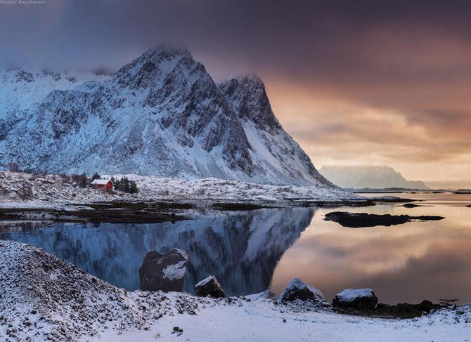 Лофотенские острова норвегия 11 (670x487, 262Kb)