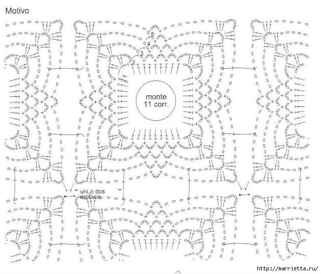 钩花毯和床罩(36) - 柳芯飘雪 - 柳芯飘雪的博客