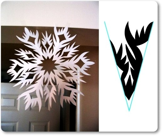 Снежинки фото своими руками шаблоны