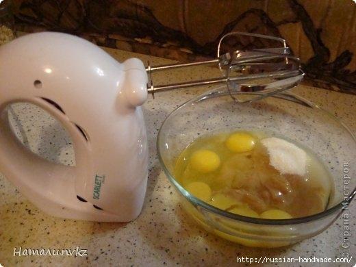 Выпечка к чаю. Ореховый пирог со сгущенкой (2) (520x390, 105Kb)