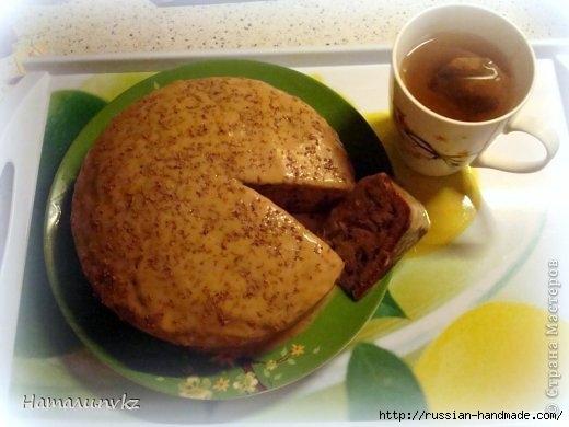 Выпечка к чаю. Ореховый пирог со сгущенкой (10) (520x390, 106Kb)