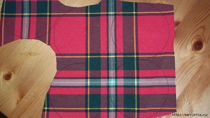Текстильный елочный шар в технике йо-йо. Мастер-класс (5) (700x393, 229Kb)