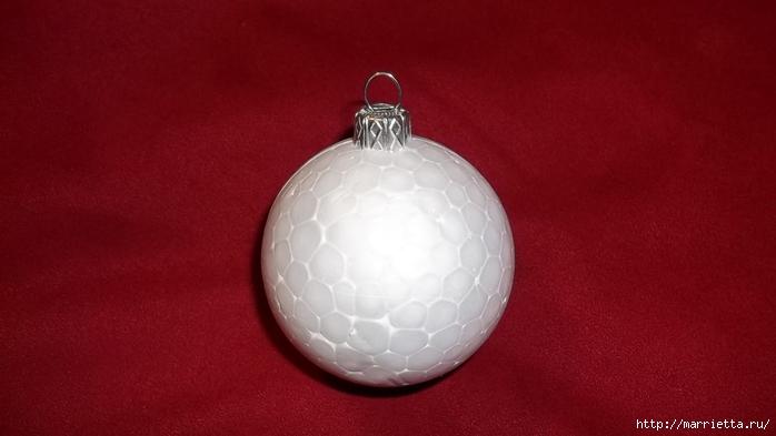 Текстильный елочный шар в технике йо-йо. Мастер-класс (15) (700x393, 142Kb)