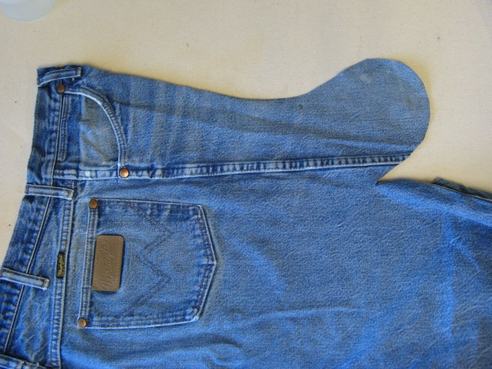 Рождественский чулок из старых джинсов (2) (700x525, 312Kb)