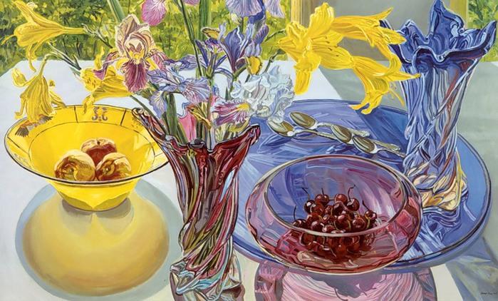Janet Fish Glass
