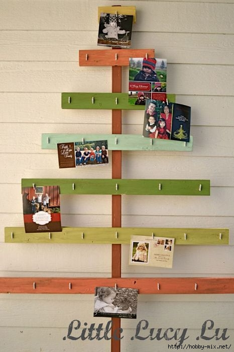 Alternative-Christmas-tree-ideas-tree-from-wood-boards-and-photos (466x700, 154Kb)
