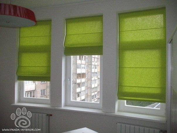 Как закрепить римские шторы?