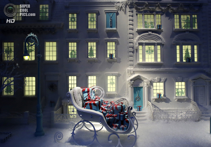 рождественские витрины фото 2 (700x486, 397Kb)