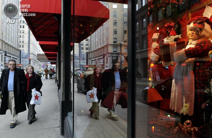 рождественские витрины фото 4 (700x454, 384Kb)