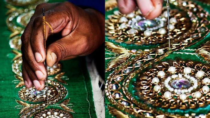 Индийское шитье