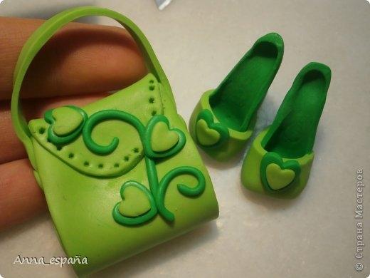 Туфли для кукол из солёного теста своими руками