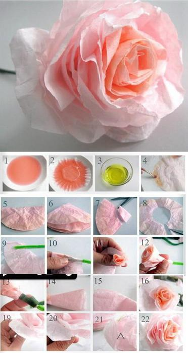 DIY-Beautiful-Coffee-Filter-Rose (372x700, 38Kb)