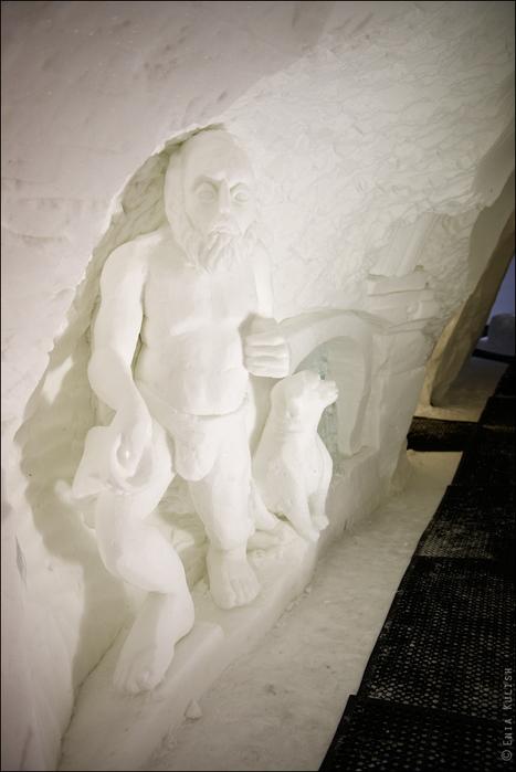 снежный грот в альпах фото 11 (467x700, 275Kb)