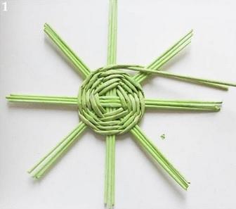 Плетение из газет. Нежная ажурная шкатулка (2) (336x297, 43Kb)
