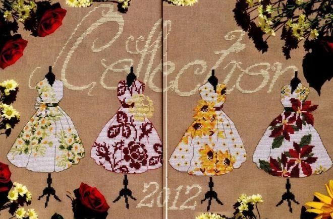 коллекция нарядов- весна, лето, осень, зима (660x435, 180Kb)
