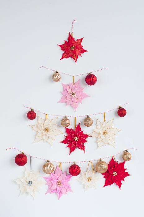 Poinsettia.  Ideas y clase magistral sobre la escultura de la estrella de Navidad (14) (464x700, 157Kb)