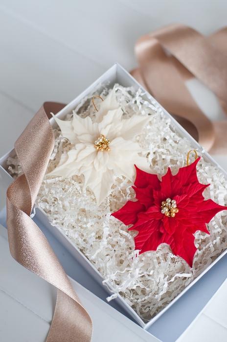 Poinsettia.  Ideas y clase magistral sobre la escultura de la estrella de Navidad (25) (464x700, 218Kb)
