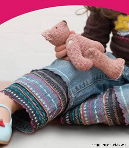 Идея декорирования детских джинсов (1) (434x497, 110Kb)