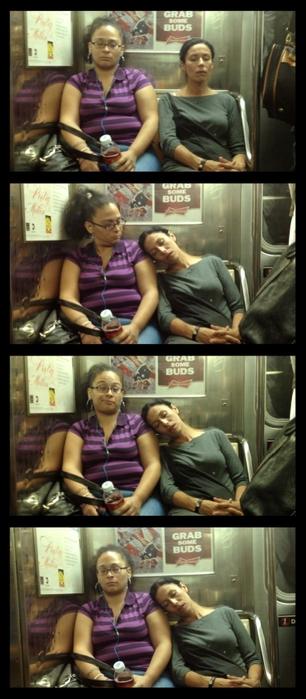 спящие в метро фото (306x700, 170Kb)