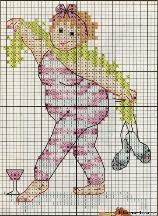 Прикольная вышивка. Девочки зажигают) (3) (511x700, 404Kb)
