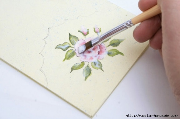 Фото мастер-класс по росписи стеклянной масленки (13) (577x382, 86Kb)
