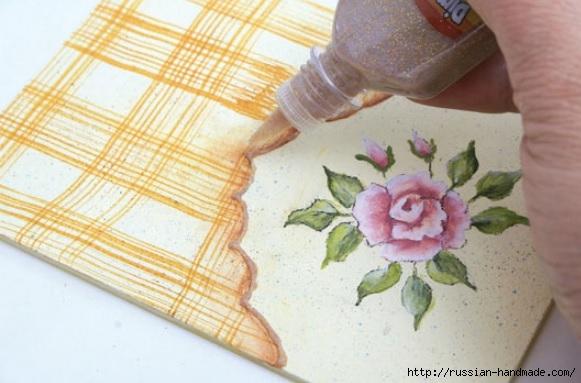 Фото мастер-класс по росписи стеклянной масленки (20) (581x383, 137Kb)