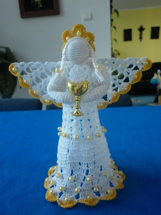 Рождественские ангелы крючком (1) (525x700, 225Kb)
