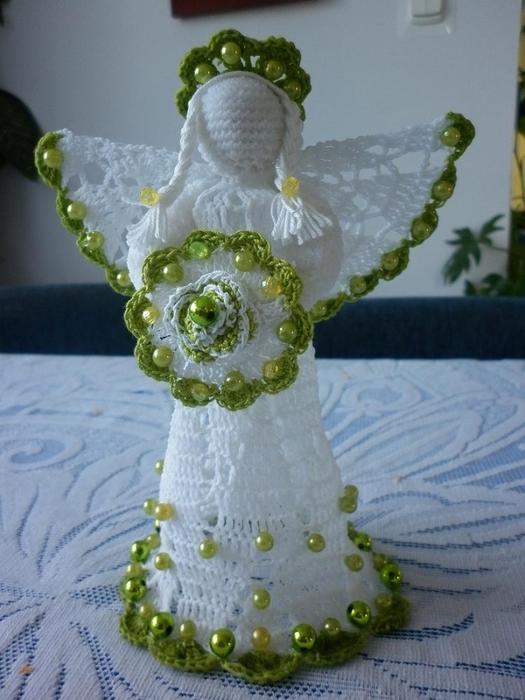 Рождественские ангелы крючком (13) (525x700, 236Kb)