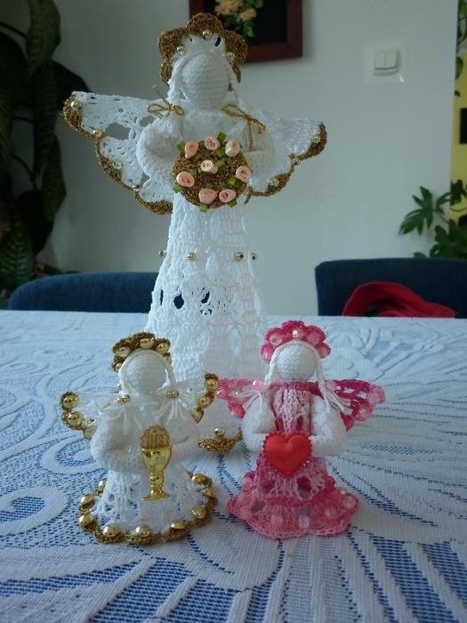 Рождественские ангелы крючком (65) (525x700, 255Kb)