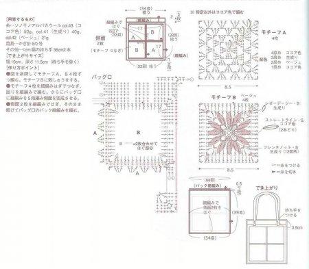 модель сумки 0081 - схема/3266779_1371389961_851371390007_80a (450x393, 33Kb)