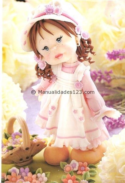 Куколка из холодного фарфора. Фото мастер-класс (2) (412x603, 139Kb)