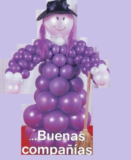 Воздушные шары в интерьере детского праздника. Мастер-классы (55) (443x542, 78Kb)