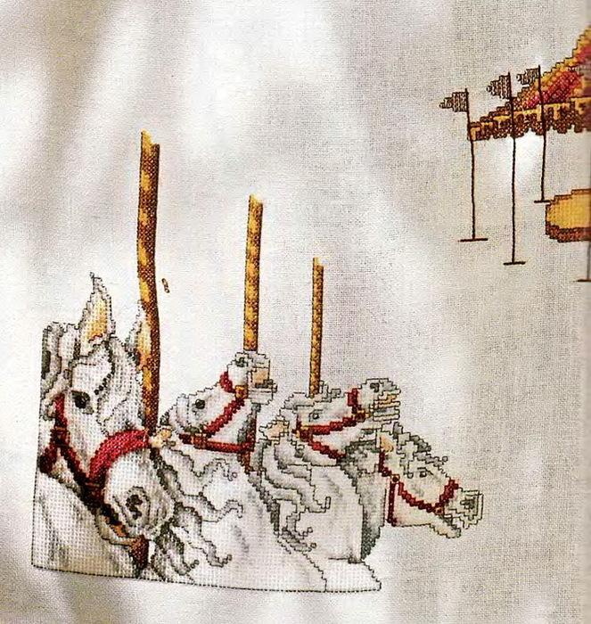 Схемы вышивка крестом шторы 48