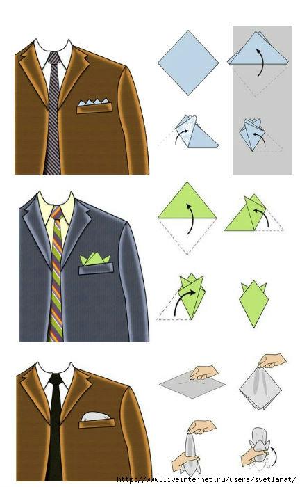 Как сделать платок для костюма