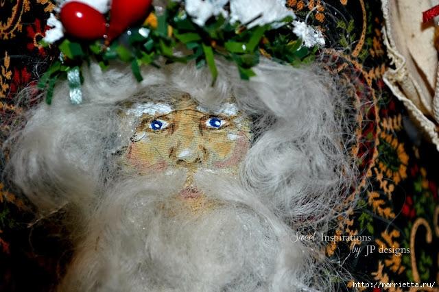 Дед Мороз и елочная игрушка из картона (16) (640x426, 224Kb)