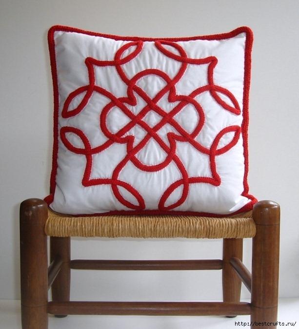 Декорирование подушки в кельтском стиле. Мастер-класс (2) (613x675, 217Kb)