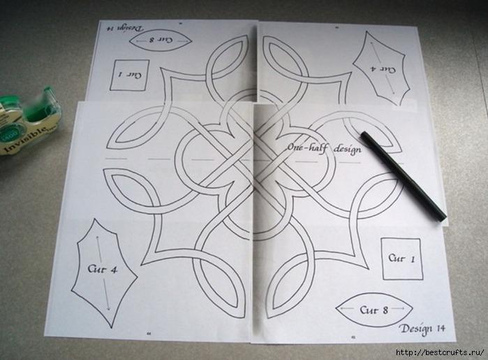 Декорирование подушки в кельтском стиле. Мастер-класс (3) (699x515, 186Kb)