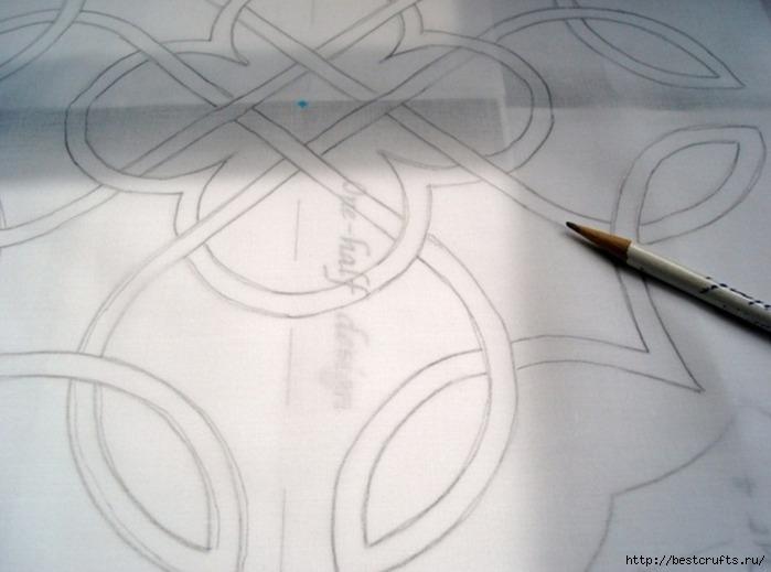 Декорирование подушки в кельтском стиле. Мастер-класс (4) (699x519, 142Kb)