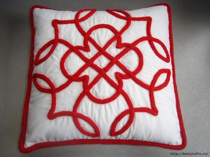 Декорирование подушки в кельтском стиле. Мастер-класс (18) (700x524, 200Kb)