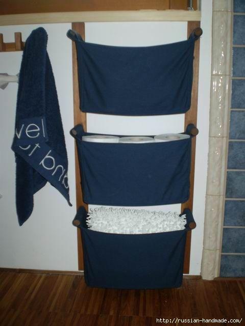Отличная идея для ванной комнаты. Шьем кармашки (3) (480x640, 107Kb)