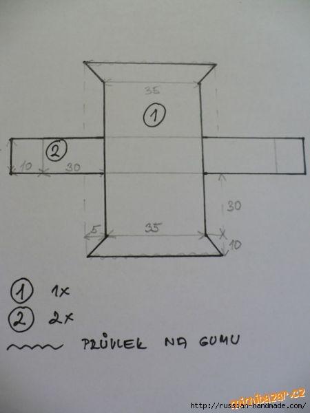 Отличная идея для ванной комнаты. Шьем кармашки (5) (450x600, 61Kb)